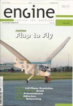 Magazine cover of Engine
